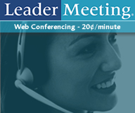 Get Leader Meeting web conferencing services information.